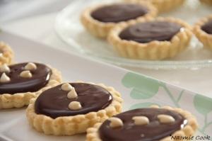 tartellettes au chocolat