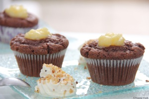 muffins chocolat coeur citron
