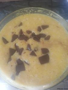 éclats de chocolat noir