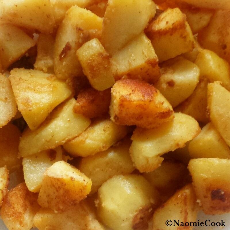 moins gras et meilleures que les frites les pommes de terre saut es aux pices. Black Bedroom Furniture Sets. Home Design Ideas